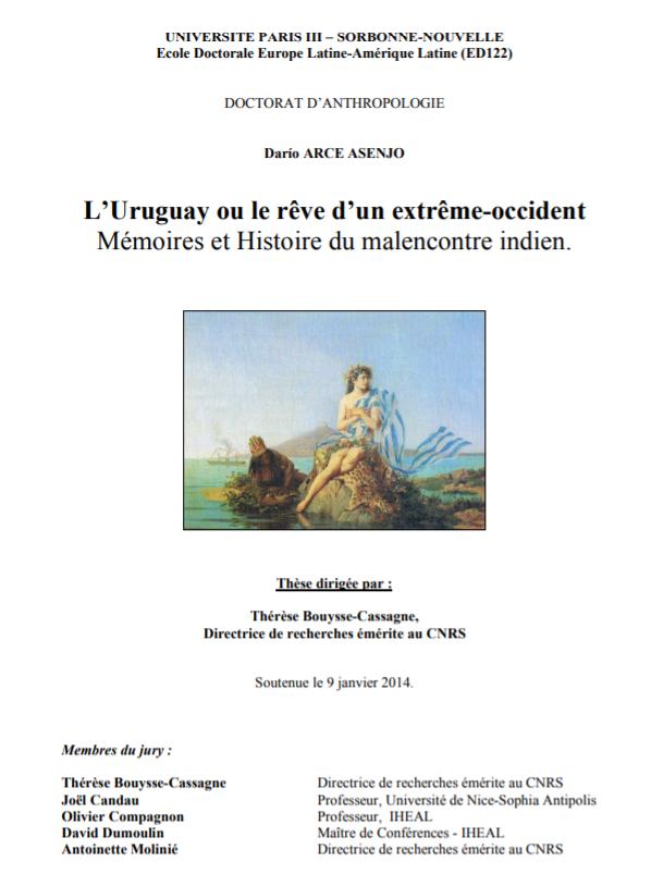 RUAE] Revista Uruguaya de Antropología y Etnografía ISSN